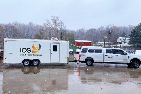 IOS Morgantown, WV Facility Adds State-of-the-Art Mobile Inspection Trailers to its Existing Fleet